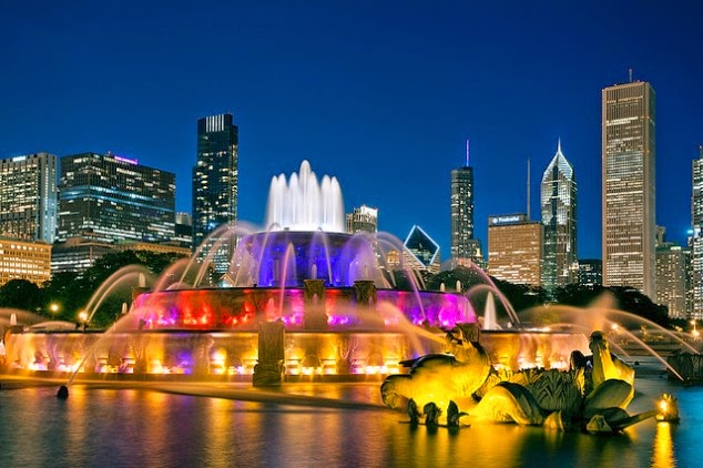 Buckingham Fountain-Chicago