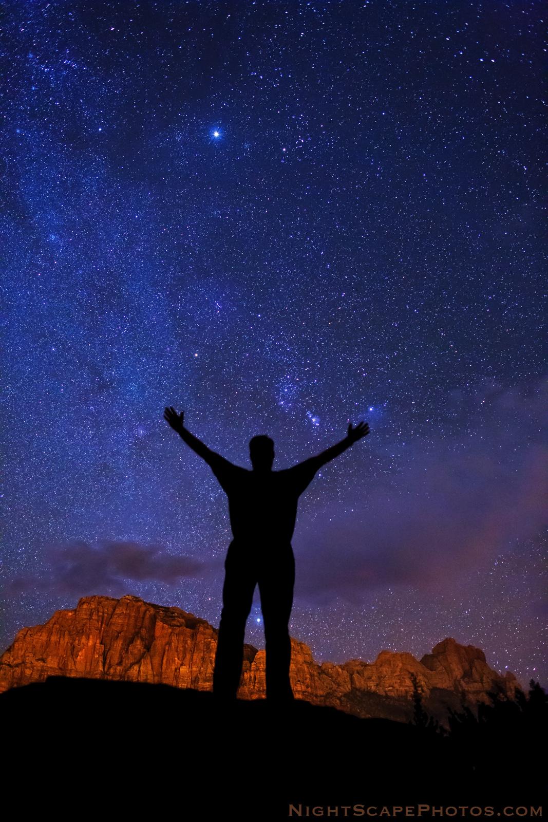 Into The Night Photography Stargazing The Winter Night Sky