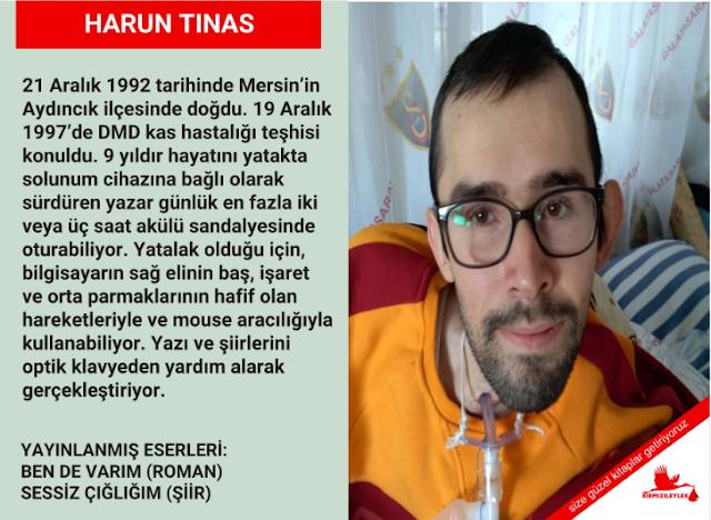 Yazar/Şair Harun Tınas