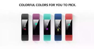 Smartband Inteligente em 5 cores