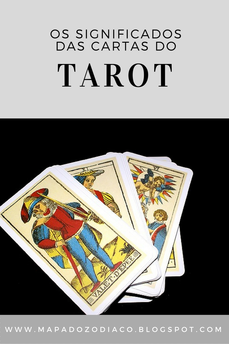 O Significado Das 78 Cartas Do Tarot / Mapa Do Zodíaco