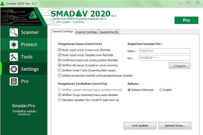 Serial Number Smadav Pro Terbaru 2020 Rev 13.7 Full Serial Number