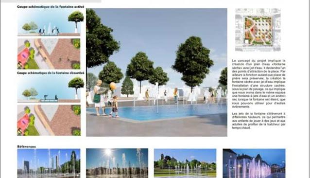 هكذا ستتغير معظم ساحات أكادير في إطار برنامج التنمية الحضرية.