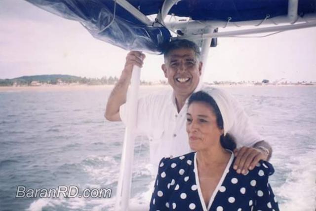Rubén Aguirre y su esposa Consuelito de los Reyes Medellín