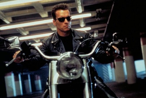 Arnold Schwarzenegger T800 Terminator 2 Judgment Day poster wallpaper screensaver image still