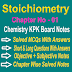 Chemistry Class 11 Notes | Stoichiometry | Chapter One