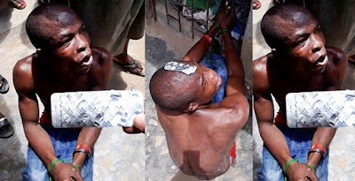 """Young Man """"Goes Insane"""" after taking 7 tablets of 200mg Tramadol In Lagos"""