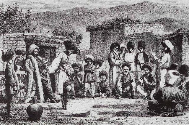 Василий Васильевич Верещагин - Лезгинка. 1864-1867