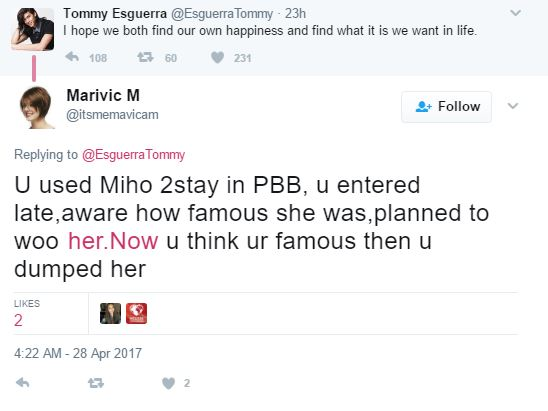 'Ginamit Mo Lang Si Miho Para Sumikat!' Furious Netizens Called Tommy Esguerra A User!