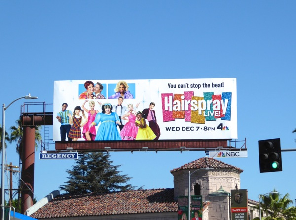 Hairspray Live 2016 billboard