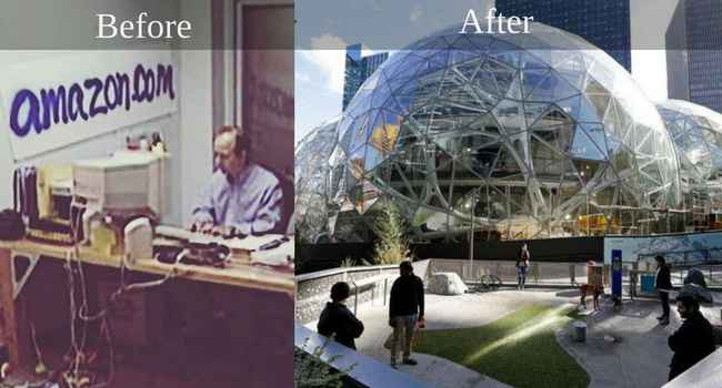 amazon before and after story