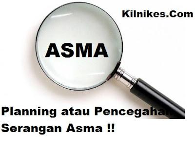 Planning atau Pencegahan serangan Asma