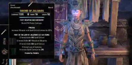 The Law Of Julianos Set – Craftable