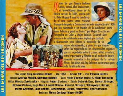 Las minas del rey Salomón - [1950]