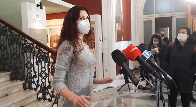 Αναστασία Γιαννακούδη, νοσηλεύτρια από την Αργολίδα στη Θεσσαλονίκη: Ήταν μια εμπειρία ζωής (βίντεο)