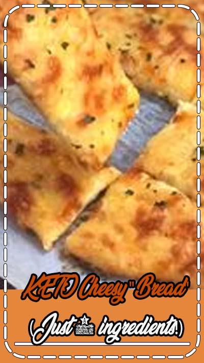 Vegetarian Gluten free · Serves 2 · Looking for easy keto recipes? This quick and easy low carb snack is made with just 4 simple ingredients! You will never miss bread again. No almond flour or coconut flour, but absolutely no eggy taste! Great for beginners. A fabulous snack, appetizer or side dish for soup or salad. #keto #lowcarb # instrupix