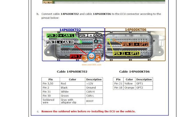 Read EDC17C74 ECU with KTAG 7.020 7