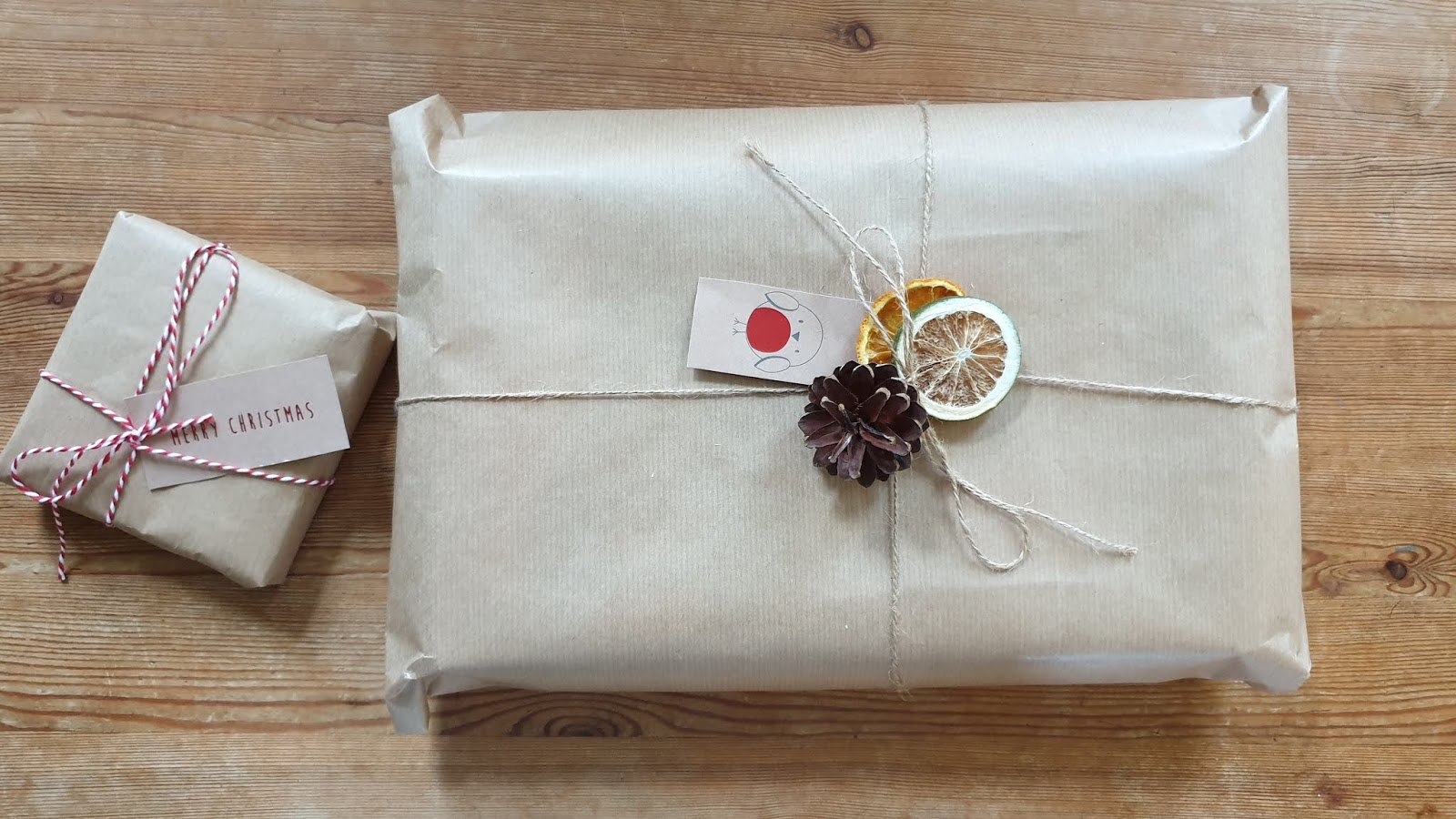 brown parcel paper wrapping ideas