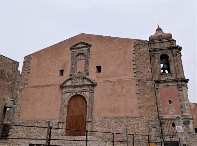 facciata della Chiesa di San Giuliano a Erice