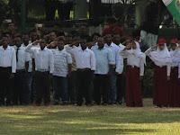 HUT ke-73 RI: Tak Cuma Ikut Upacara, Mahasiswa Papua di Yogya Juga Melakukan Ini