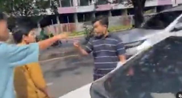 Pemobil Aniaya Relawan Sembako 'Rumah Makan Gratis', Ustaz Didorong-dorong