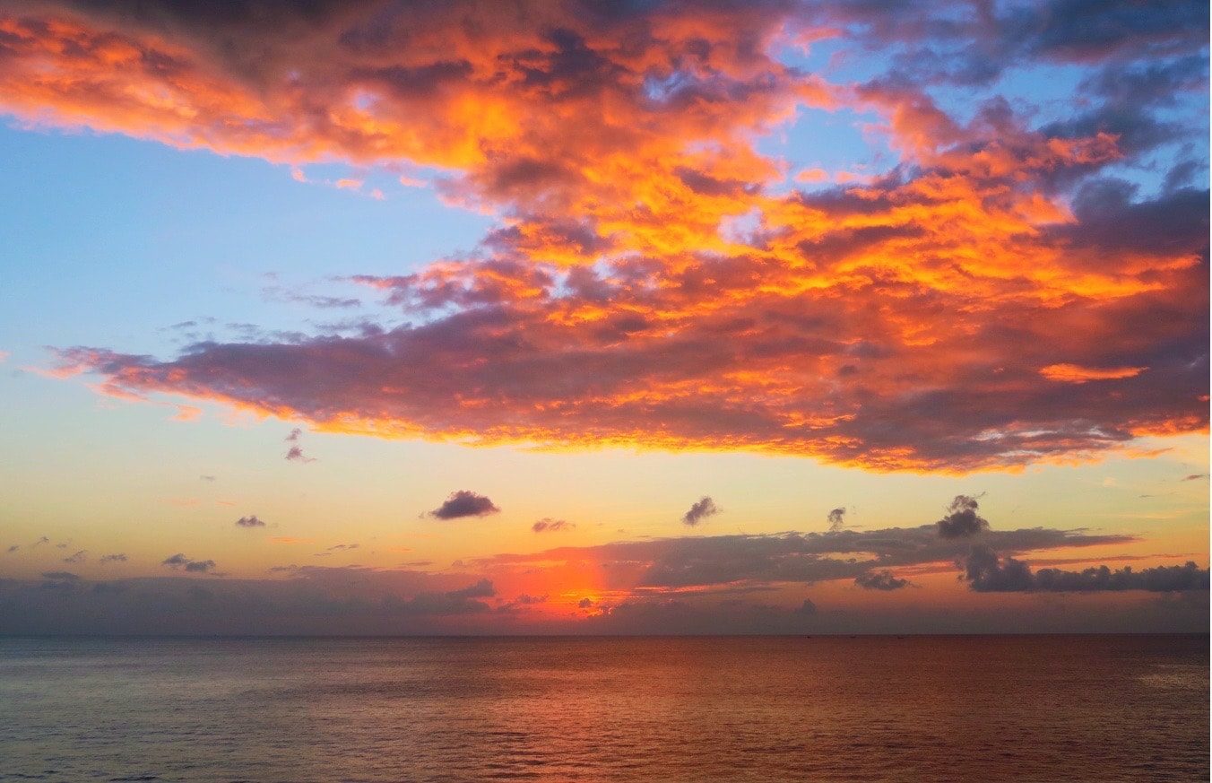 Ayana Resort and Spa Sunset Views