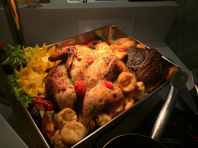 Hot Roast Dinner Di The Prestige Hotel Penang