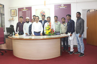 टीचर्स ग्रुप ने किया शिक्षणाधिकारी राजू तड़वी का सम्मान    #NayaSaberaNetwork