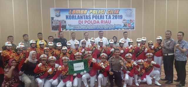 Pocil Binaan Polres Kampar Raih Juara III Lomba Pocil Tingkat Polda Riau
