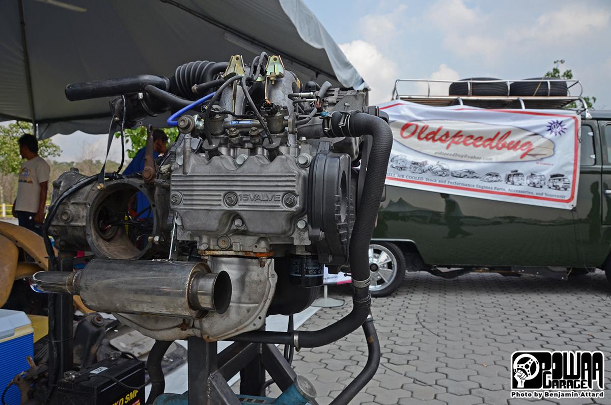 Beetle Spotting - Volksjohore VW Jamboree 2014   POWAA Garage