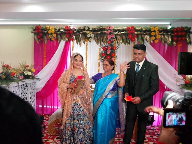 Mix Hotel Banquet Hall Ring Ceremony Paridhi and Ankush