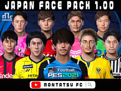 PES 2021 Japan Mega Facepack by Montatsu