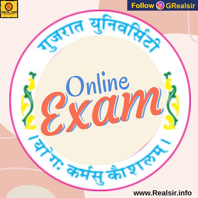 Online Exam of Gujarat University