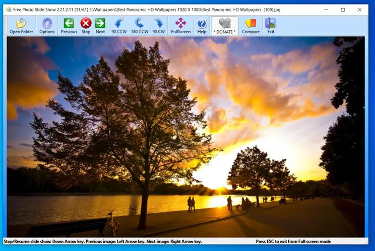 Free Photo SlideShow :  Προβάλετε τις  φωτογραφίες σας ως slideshow