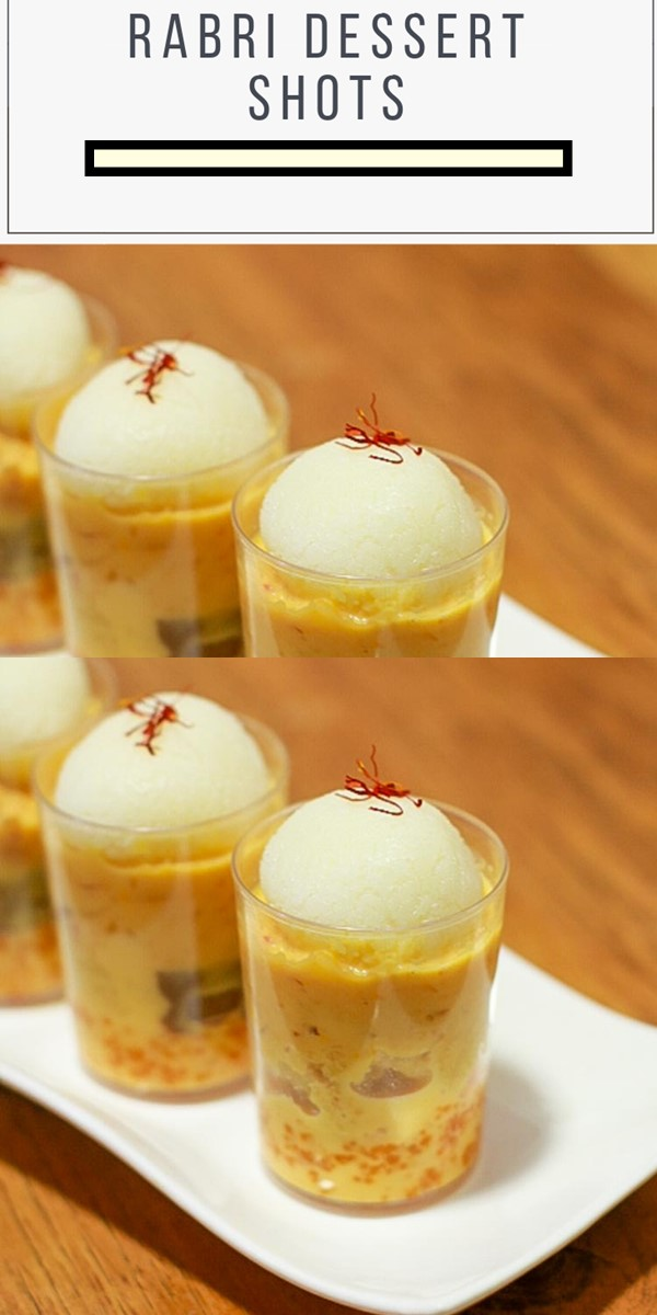 RABRI DESSERT SHOTS #dessertrecipes