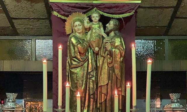 Abraham Ceada realizará el conjunto escultórico de la Sagrada Familia para la parroquia del Torrejón de Huelva