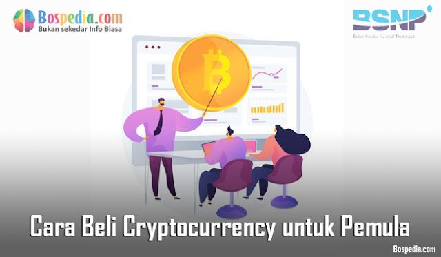 Cara Beli Cryptocurrency untuk Pemula