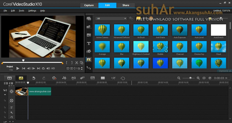 corel videostudio ultimate x10 bagas31