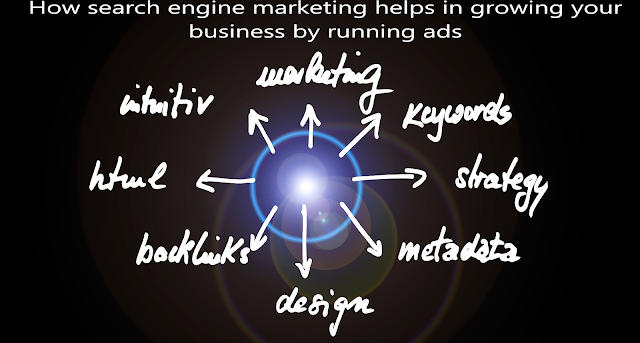 How search engine marketing helps in growing your business by running ads?