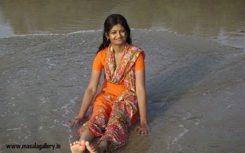 Desi Girls At Beach - Masala Gallery-1520