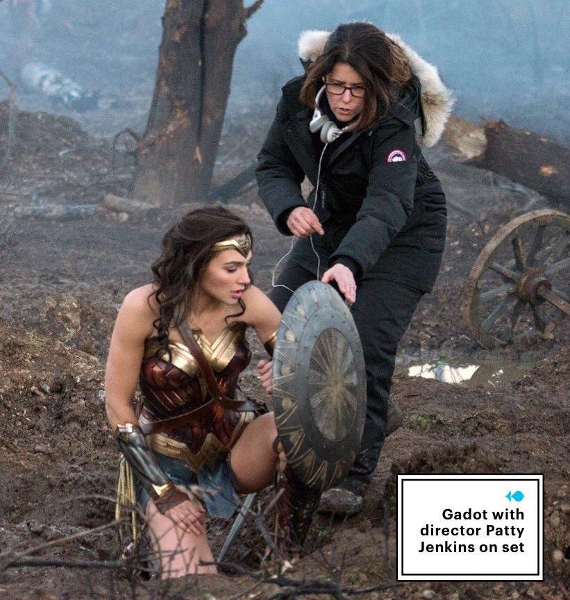 Gadot y Patty Jenkins Wonder Woman