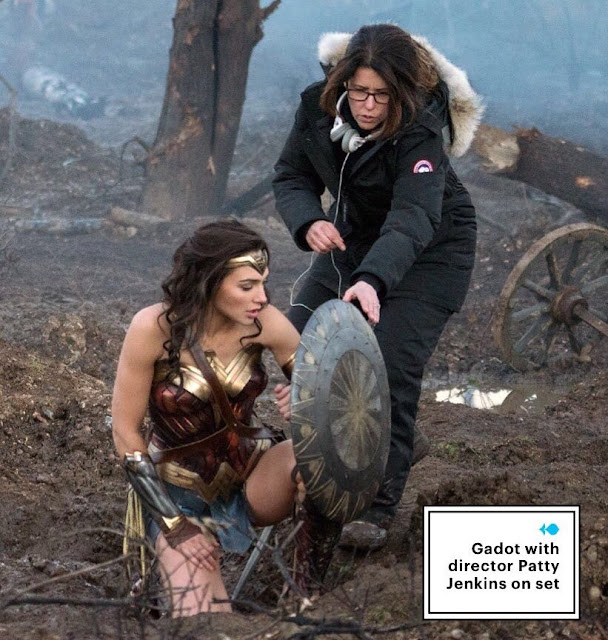 Gadot y Patty Jenkins Wonder Woman