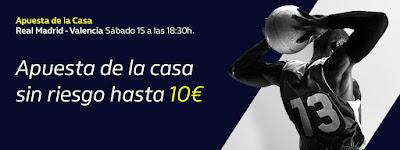 william hill promocion copa Real Madrid vs Valencia Basket 15 febrero 2020