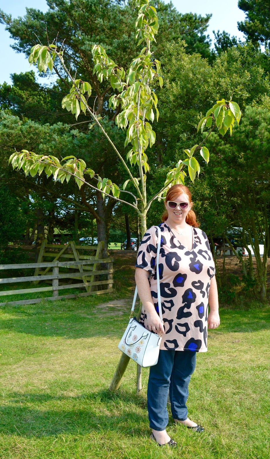 My Favourite Dress for Autumn | Pink Clove Review - Ara Animal Print Plus Size Dress