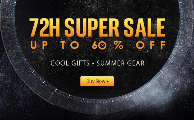 GearBest Лятна Супер Разпродажба до -60% - само за 72 часа