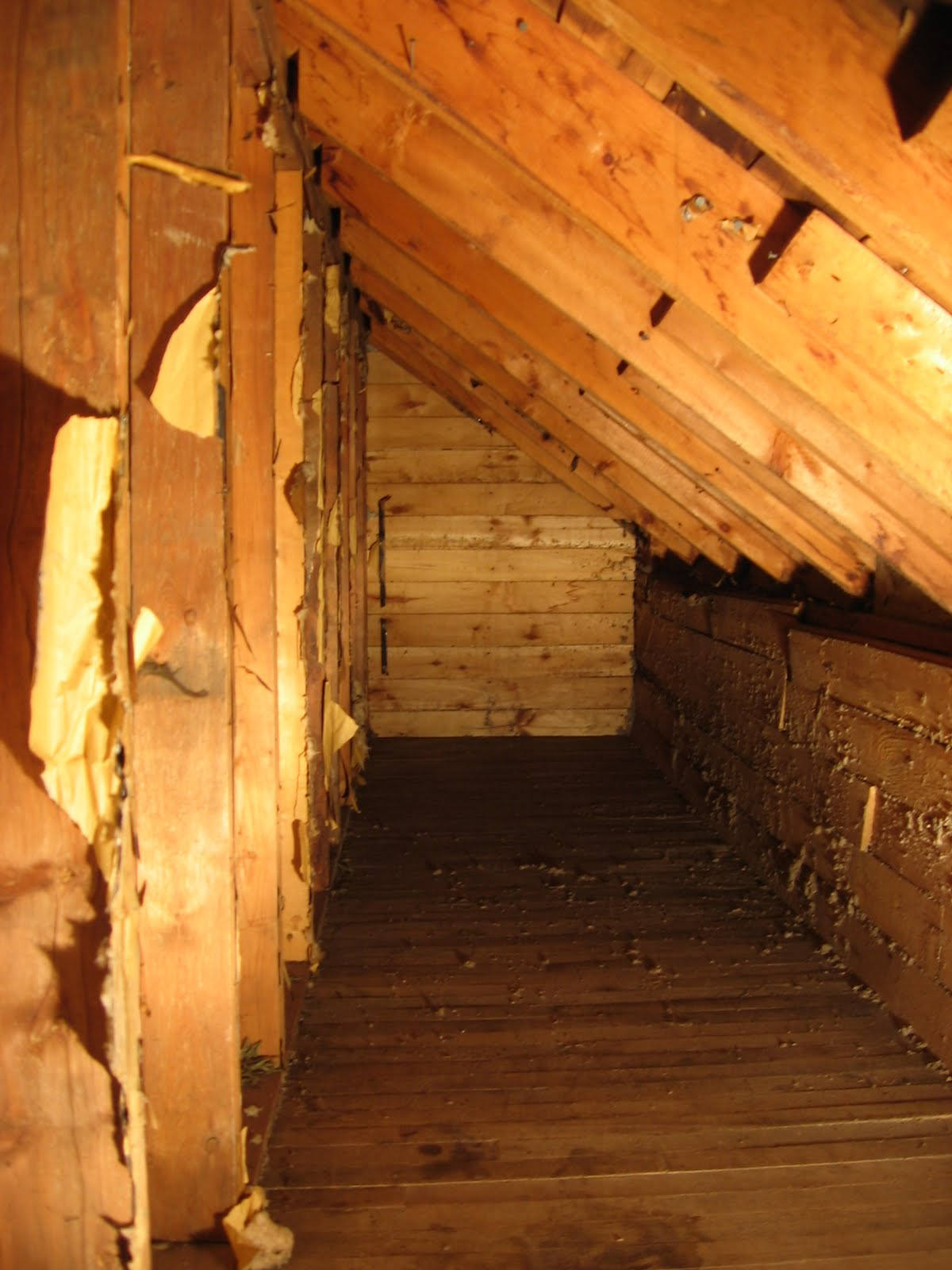 Chronicles Of A Home Insulating The Eaves And Attic