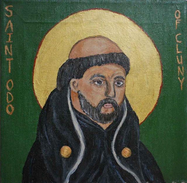 Santo Odon, abade de Cluny.