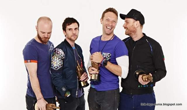 Foto Coldplay terbaru