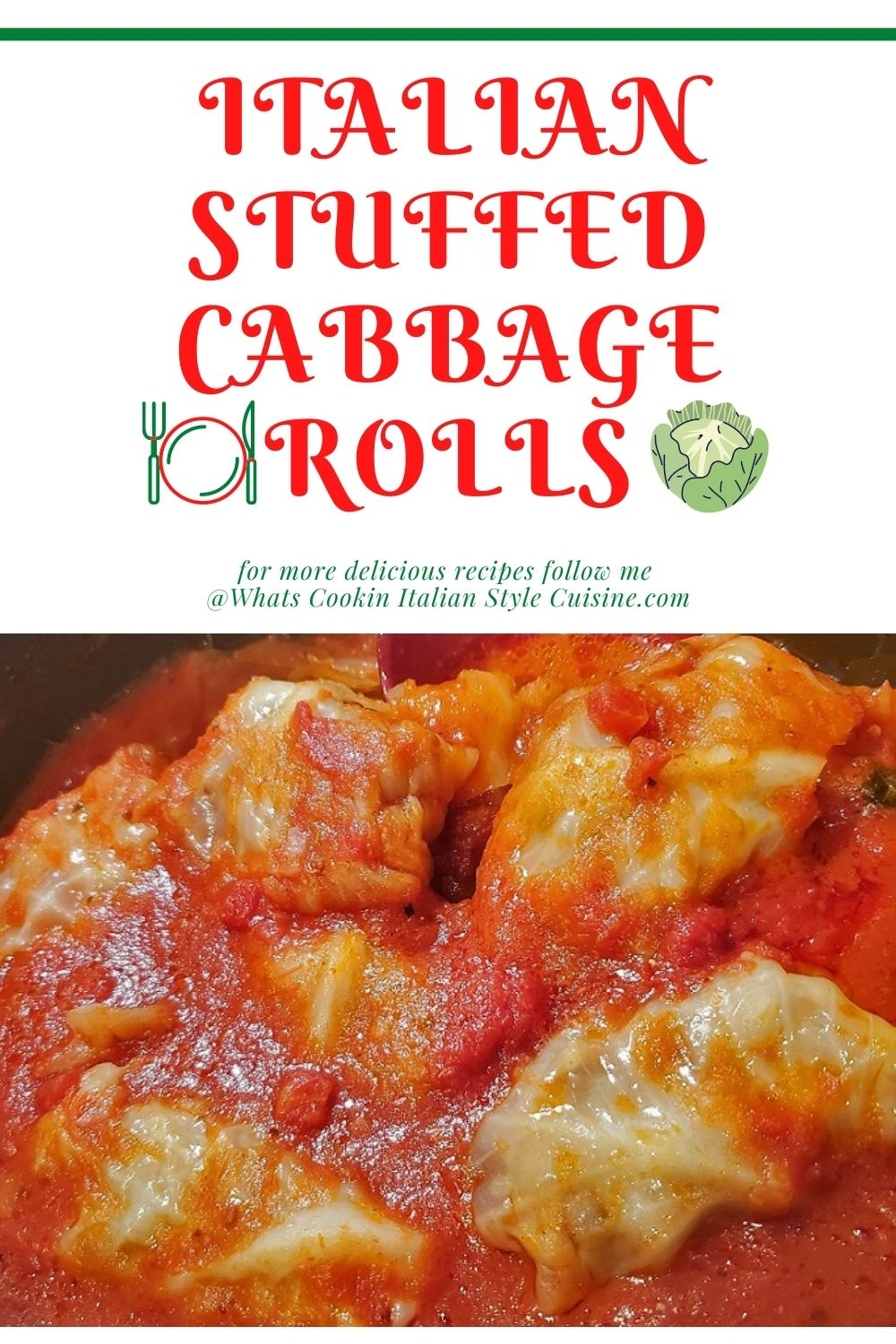 this is a pin for later on how to make stuffed cabbage rolls