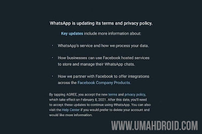New WhatsApp Privacy Policy 2021
